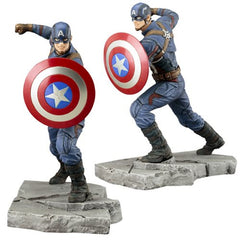 Captain America: Civil War Captain America ArtFX+ Statue