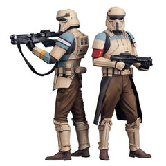 SW Rogue One Scarif Stormtrooper ArtFX+ Statue 2-Pack