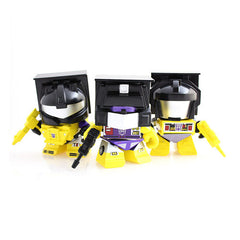 Transformers Yellow Constructicon Action Vinyl Figures 3-Pack