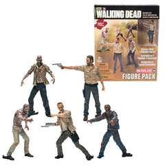 Walking Dead Mini-Figure Building Set 5-Pack
