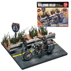 Walking Dead Daryl Dixon with Chopper Building Set