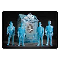 Universal Monsters ReAction Glow Action Figures with Crypt