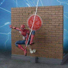 SH Figuarts  Spider-Man & ACT WALL
