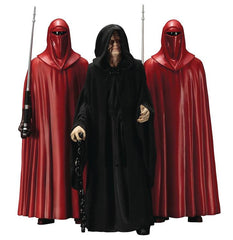 SW ArtFX+ Emperor Palpatine W/ Royal Guards Statue 3-Pack