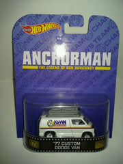 Hot Wheels Retro 1:64 ANCHORMAN NEWS VAN