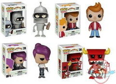 Futurama Pop! Vinyl Figure Bundle