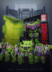 SDCC 2015 Exclusive Transformers Combiner Wars Devastator