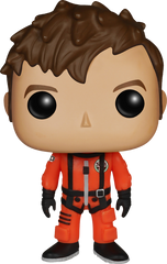 Doctor Who - 10th Doctor in Orange Space Suit Pop! NYCC
