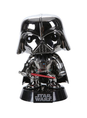 Force Awakens Pop! Chrome Vader Vinyl Hot Topic Exclusive