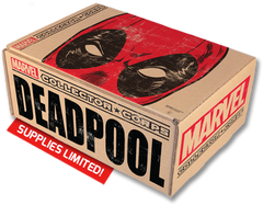 DEADPOOL MARVEL COLLECTOR CORPS BOX