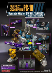 PC-10 Upgrade kits for CW Bruticus & Shockwave