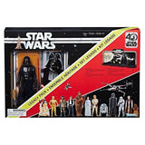 "SW The Black Series - 6"" Figure - 40th Anv Darth Vader Legacy Pack"