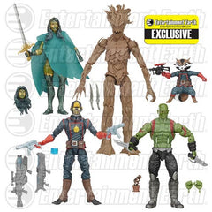 GOG Galaxy Marvel Legends Action Figure Set - EE Exclusive