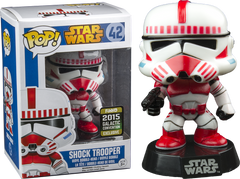 Star Wars Shocktrooper Pop! Figure (2015 Summer Con Exc)
