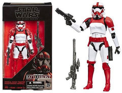 "SW Walmart Exclusive Black  6"" Battlefront Shock Trooper"