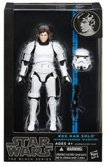 "STAR WARS BLACK SERIES  6""  HAN SOLO TROOPER DISGUISE"