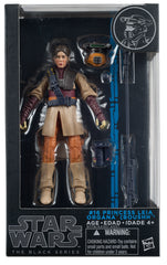 "Star Wars Black Series 6"" Princess Leia Boushh Disguise"