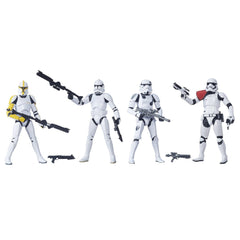 Star Wars Black  6'' Stormtrooper 4-Pk Amazon Exclusive