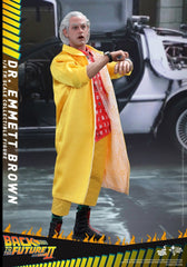 Back to the Future 2 - Dr Emmett Brown Hot Toys Figure