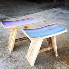 Stool Shongun Sea Lavender