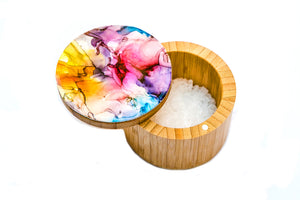 Hand Painted Salt/Spice Boxes