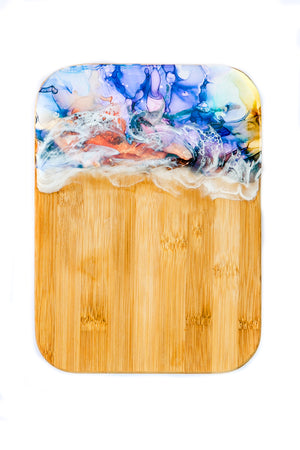 Hand Painted Cheese Board
