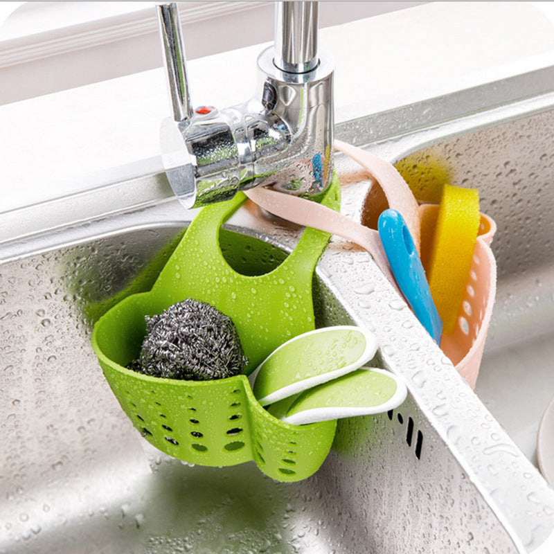 Kitchen Sink Sponge Basket