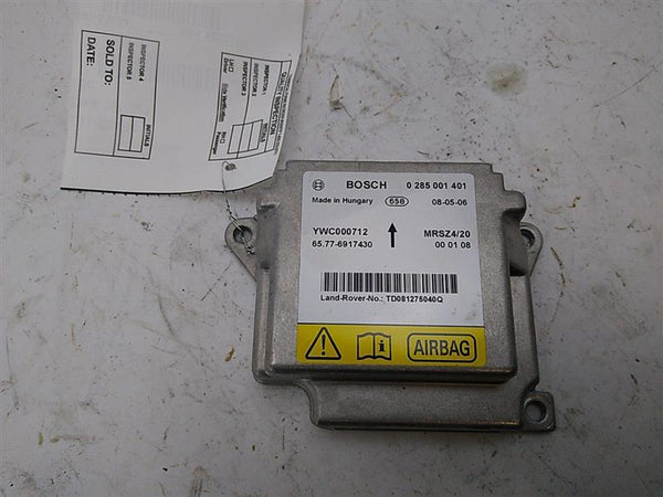 Land Rover Range Rover Air Bag Computer Module