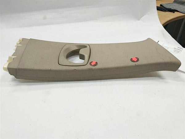 BMW 535i Right Side Upper B-Pillar Trim Panel