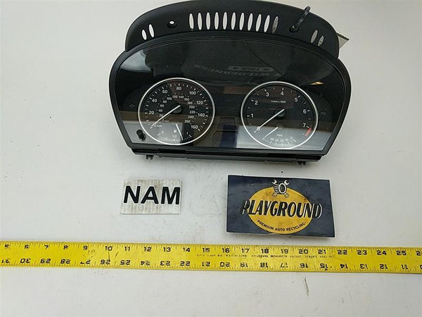 BMW 535i Speedometer and Tachometer Cluster