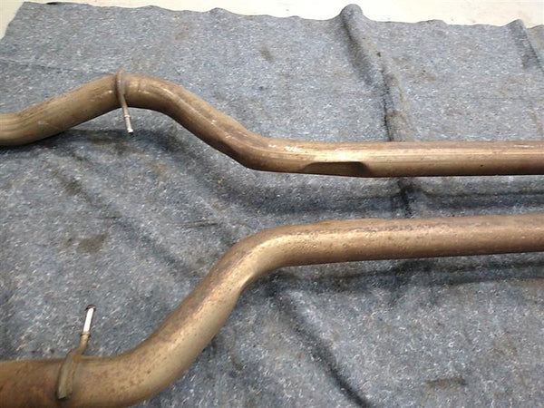 Maserati Quattroporte Exhaust Mid Pipes with X Pipe