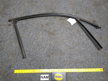BMW 328i Front Right Passenger Side Window Weather Strip Seal