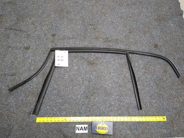 BMW 328i Rear Left Driver Side Window Weather Strip Seal