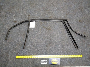 BMW 328i Rear Right Passenger Side Window Weather Strip Seal