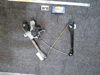 Jaguar XJ8-L Rear Left Driver Side Window Regulator with Motor