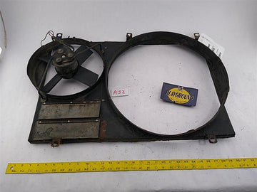 Jaguar XJ-S Radiator Fan Shoud w/ Fan