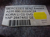 Mercedes-Benz S430 Rear Left Trunk Side Trim