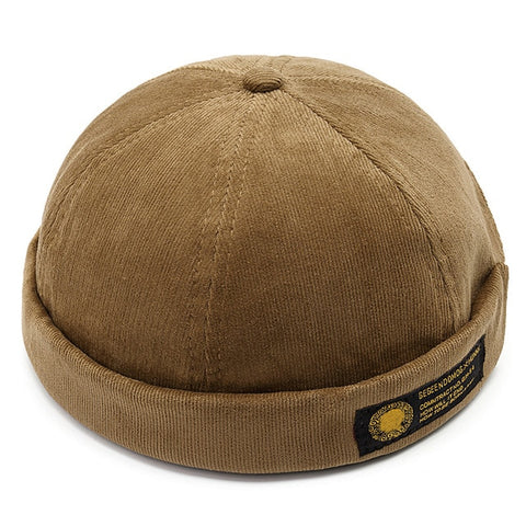 """HOW WILL IT END"" Corduroy Cap"