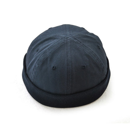 Buttonless Two Tone Cap
