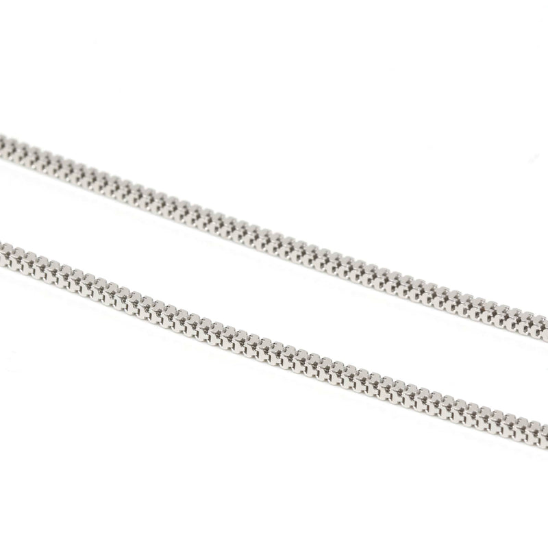 Italian Sterling Silver Box Chain 20 inch ( 1.5 mm )