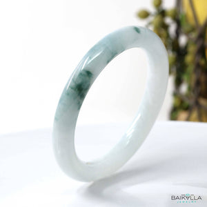 Genuine Burmese Jadeite Jade Bangle