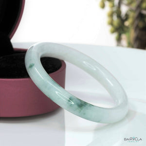Genuine Burmese Jadeite Jade Bangle ( 57.3 mm )#61