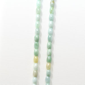 Genuine Jadeite Jade Beads Necklace 18 inch