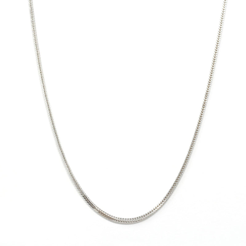 Italian Sterling Silver Box Chain 18 inch