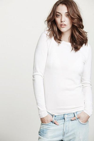 Surfer Crew Neck Sweater | Ivory - Banjo & Matilda | International  - 1