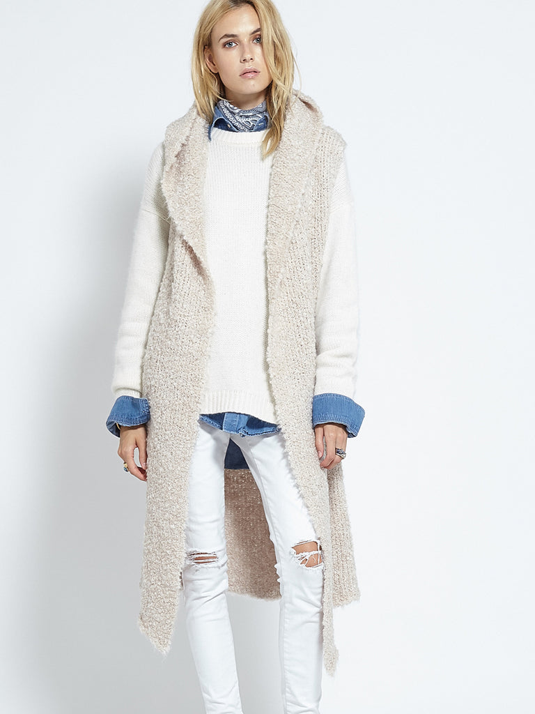 Shearling Cardi | Fawn - Banjo & Matilda | International  - 1
