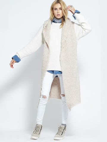 Shearling Cardi | Fawn - Banjo & Matilda | International  - 2