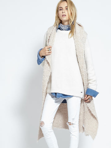 Shearling Cardi | Fawn - Banjo & Matilda | International  - 3