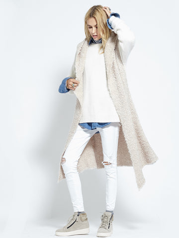 Shearling Cardi | Fawn - Banjo & Matilda | International  - 4