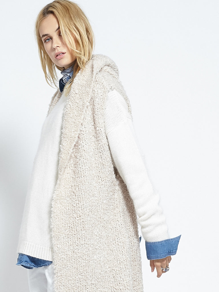 Shearling Cardi | Fawn - Banjo & Matilda | International  - 5